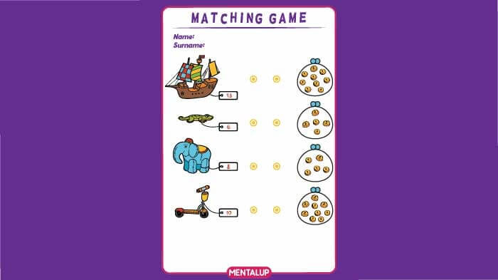 money games for 1st grade