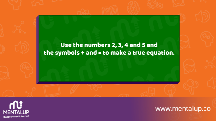 2 3 4 5 Math Riddle and Answer