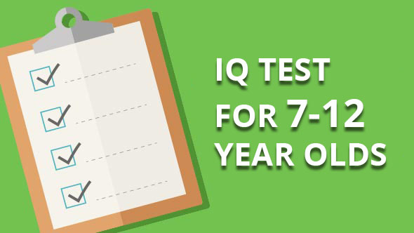 ıq test for 7-12 year olds
