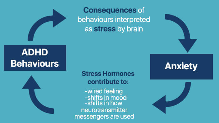 anxiety and ADHD symptoms