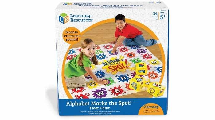 Alphabet Marks The Spot Game
