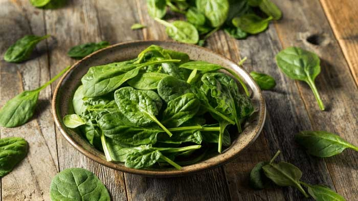 Spinach Food for Memory