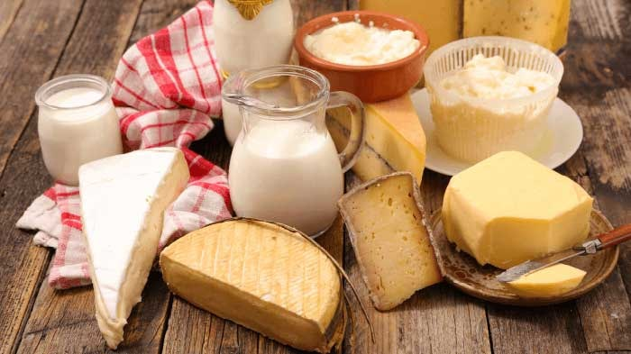 Dairy Product Foods for Memory