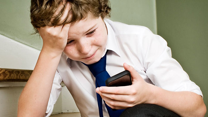 Symptoms of cyber bullying
