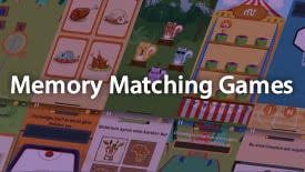 Memory Matching Games for Children