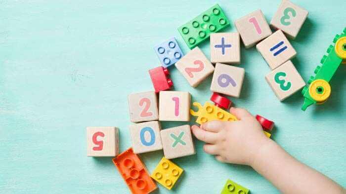 Number Blocks game for preschoolers