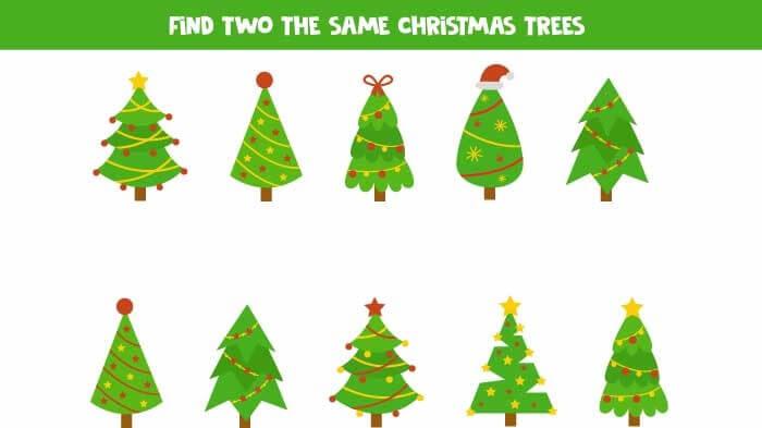 Christmas Math Games for Preschoolers