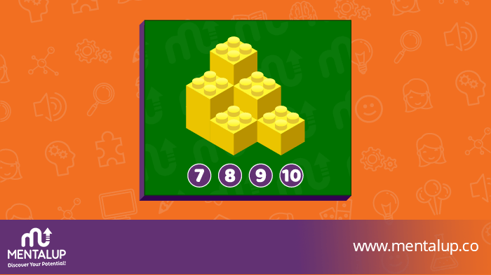 Brain Teaser Puzzle With Blocks