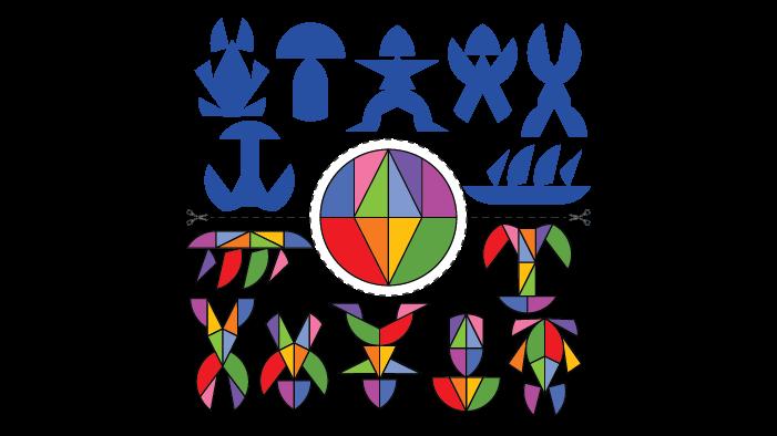 Tangram circle
