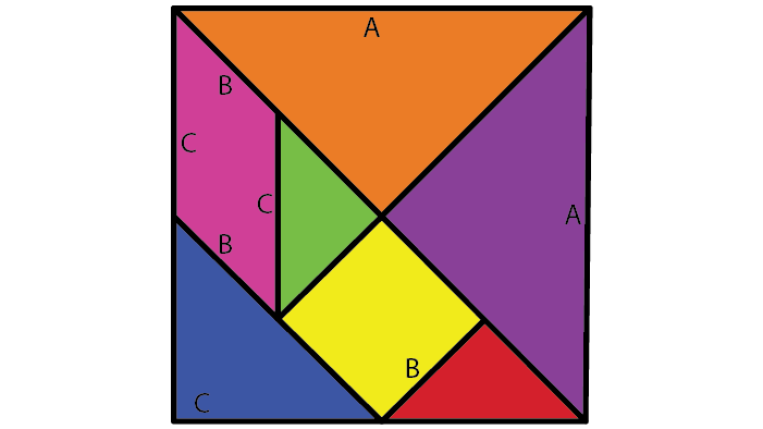 Tangram square