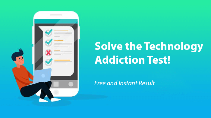 technology addiction test