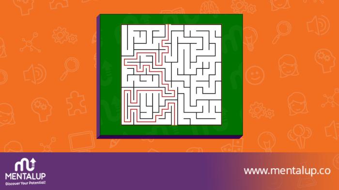 Maze Riddle answer