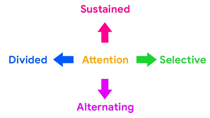 The Four Types of Attention