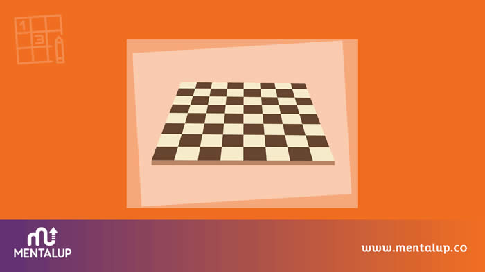 Visual Brain Question About Chessboard